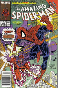 Cover for The Amazing Spider-Man (Marvel, 1963 series) #327 [Newsstand]