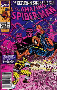 Cover Thumbnail for The Amazing Spider-Man (Marvel, 1963 series) #335 [Newsstand]