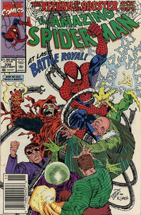 Cover Thumbnail for The Amazing Spider-Man (Marvel, 1963 series) #338 [Newsstand]