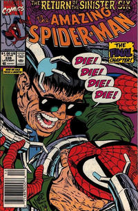 Cover Thumbnail for The Amazing Spider-Man (Marvel, 1963 series) #339 [Newsstand]