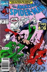 Cover Thumbnail for The Amazing Spider-Man (Marvel, 1963 series) #342 [Newsstand]