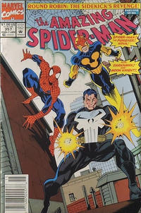 Cover Thumbnail for The Amazing Spider-Man (Marvel, 1963 series) #357 [Newsstand]