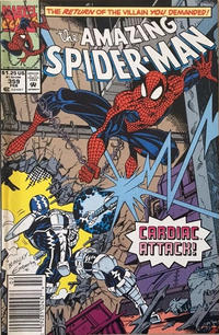 Cover Thumbnail for The Amazing Spider-Man (Marvel, 1963 series) #359 [Newsstand]