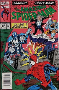 Cover Thumbnail for The Amazing Spider-Man (Marvel, 1963 series) #376 [Newsstand]