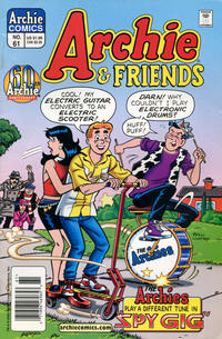 Cover Thumbnail for Archie & Friends (Archie, 1992 series) #61 [Newsstand]
