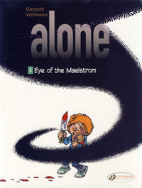 Cover Thumbnail for Alone (Cinebook, 2014 series) #5 - Eye of the Maelstrom