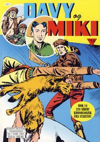 Cover Thumbnail for Davy og Miki (Hjemmet / Egmont, 2014 series) #14