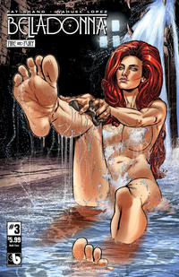 Cover Thumbnail for Belladonna: Fire and Fury (Avatar Press, 2017 series) #3 [Christian Zanier Bath Time Cover]