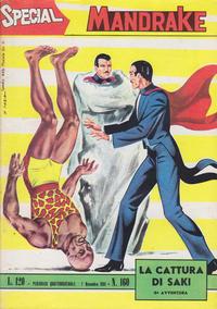 Cover Thumbnail for Special Mandrake (Edizioni Fratelli Spada, 1965 series) #160