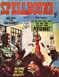 Cover Thumbnail for Spellbound (L. Miller & Son, 1960 ? series) #10