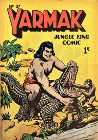 Cover Thumbnail for Yarmak Jungle King Comic (Young's Merchandising Company, 1949 series) #37