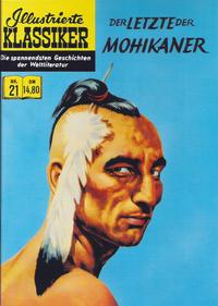 Cover Thumbnail for Illustrierte Klassiker [Classics Illustrated] (Norbert Hethke Verlag, 1991 series) #21 - Der Letzte der Mohikaner