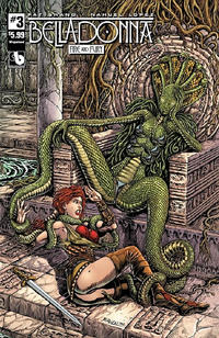 Cover Thumbnail for Belladonna: Fire and Fury (Avatar Press, 2017 series) #3 [Raulo Caceres Wraparound Cover]