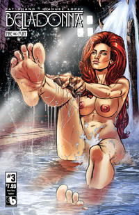 Cover Thumbnail for Belladonna: Fire and Fury (Avatar Press, 2017 series) #3 [Bath Time Topless Cover]