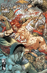 Cover Thumbnail for Belladonna: Fire and Fury (Avatar Press, 2017 series) #3 [Wetworks Adult Cover]