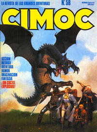 Cover Thumbnail for Cimoc (NORMA Editorial, 1981 series) #58