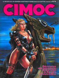 Cover Thumbnail for Cimoc (NORMA Editorial, 1981 series) #74