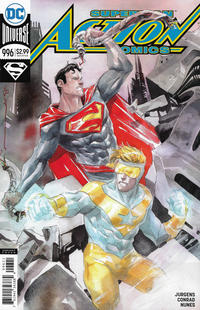 Cover Thumbnail for Action Comics (DC, 2011 series) #996 [Dustin Nguyen Cover]