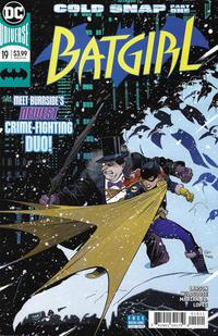 Cover Thumbnail for Batgirl (DC, 2016 series) #19 [Dan Mora Cover]