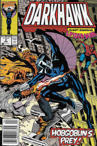 Cover Thumbnail for Darkhawk (Marvel, 1991 series) #2 [Newsstand]
