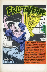 Cover Thumbnail for Fruta Verde Green Fruit (World Wide News Corporation, 1965 ? series) #2