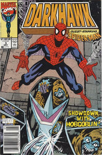 Cover Thumbnail for Darkhawk (Marvel, 1991 series) #3 [Newsstand]