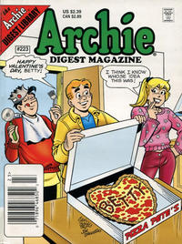 Cover Thumbnail for Archie Comics Digest (Archie, 1973 series) #223 [Newsstand]