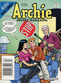 Cover Thumbnail for Archie Comics Digest (Archie, 1973 series) #224 [Newsstand]
