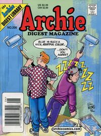 Cover Thumbnail for Archie Comics Digest (Archie, 1973 series) #206 [Newsstand]