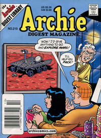 Cover Thumbnail for Archie Comics Digest (Archie, 1973 series) #210 [Newsstand]