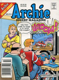 Cover Thumbnail for Archie Comics Digest (Archie, 1973 series) #214 [Newsstand]