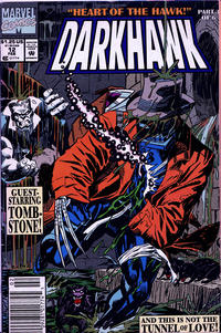 Cover Thumbnail for Darkhawk (Marvel, 1991 series) #12 [Newsstand]