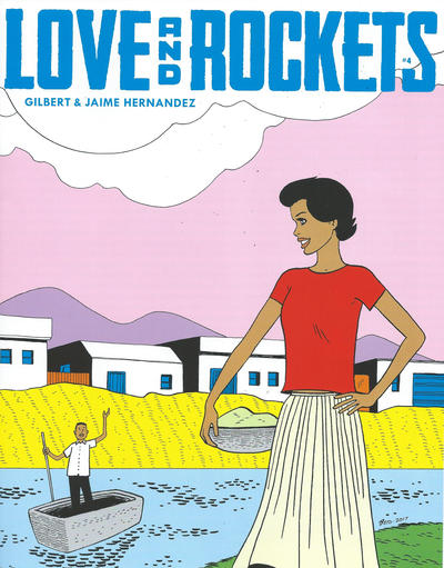 Cover for Love and Rockets (Fantagraphics, 2016 series) #4 [Jaime Hernandez]