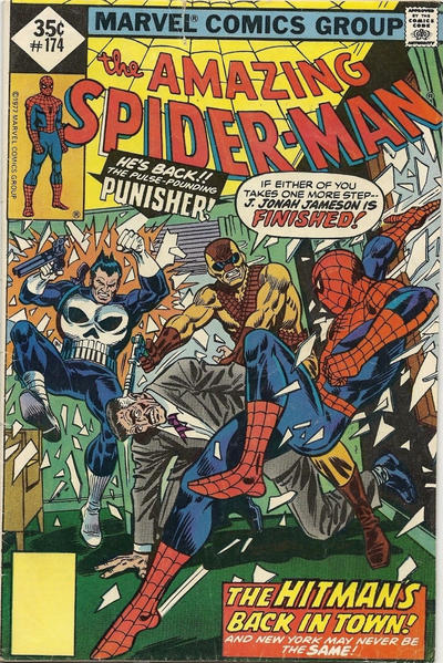 Cover for The Amazing Spider-Man (Marvel, 1963 series) #174 [Regular Edition]