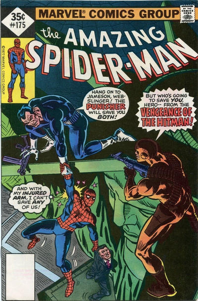 Cover for The Amazing Spider-Man (Marvel, 1963 series) #175 [Whitman]