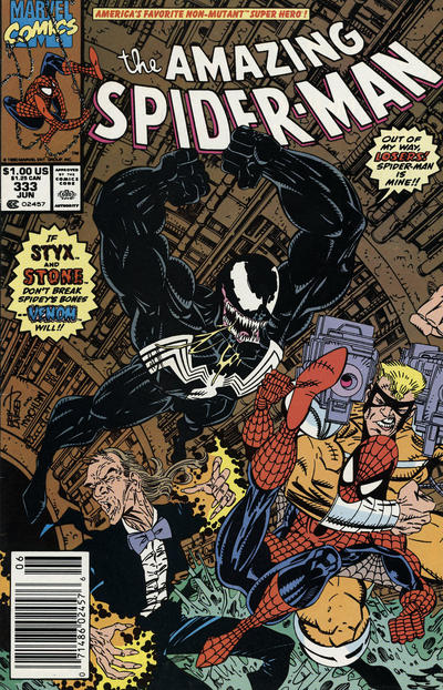 Cover for The Amazing Spider-Man (Marvel, 1963 series) #333 [Direct]