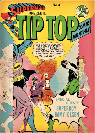 Cover for Superman Presents Tip Top Comic Monthly (K. G. Murray, 1965 series) #4