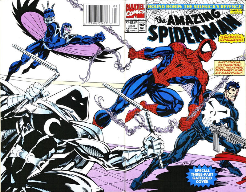 Cover for The Amazing Spider-Man (Marvel, 1963 series) #358 [Newsstand]