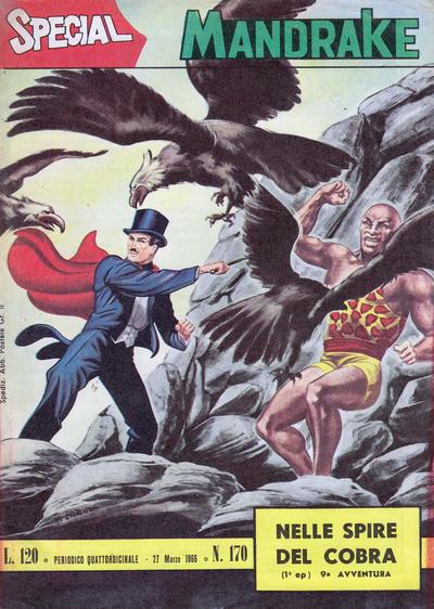 Cover for Special Mandrake (Edizioni Fratelli Spada, 1965 series) #170