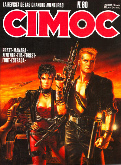 Cover for Cimoc (NORMA Editorial, 1981 series) #60