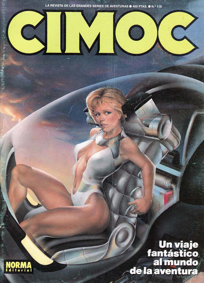 Cover for Cimoc (NORMA Editorial, 1981 series) #119