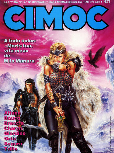 Cover for Cimoc (NORMA Editorial, 1981 series) #71