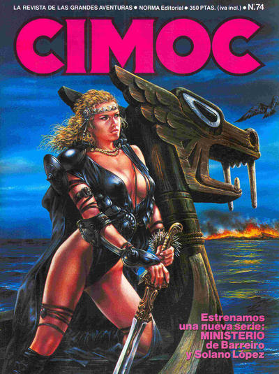 Cover for Cimoc (NORMA Editorial, 1981 series) #74