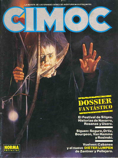 Cover for Cimoc (NORMA Editorial, 1981 series) #93
