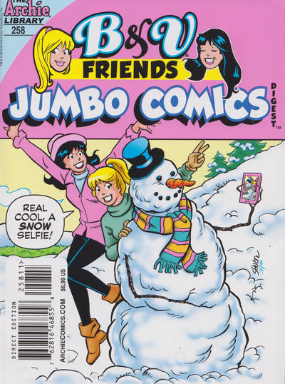 Cover for B&V Friends Double Digest Magazine (Archie, 2011 series) #258
