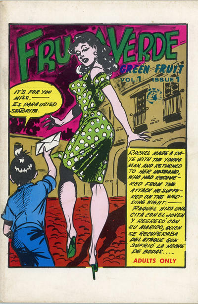 Cover for Fruta Verde Green Fruit (World Wide News Corporation, 1965 ? series) #1