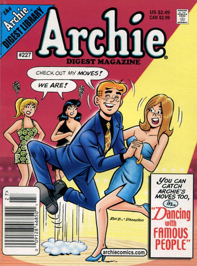 Cover for Archie Comics Digest (Archie, 1973 series) #227 [Direct Edition]