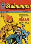 Cover for Stålmannen (Williams Förlags AB, 1969 series) #1/1970