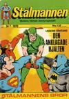 Cover for Stålmannen (Williams Förlags AB, 1969 series) #7/1970