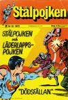 Cover for Stålpojken (Williams Förlags AB, 1969 series) #10/1972